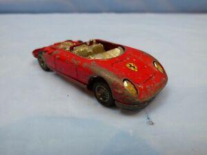 Vintage-Corgi-Toys-N-314-Ferrari-Berlinetta-automovil-de-carrera-Juguete-Rojo-250-Le-Mans