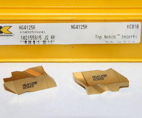 NG4125R KC810 KENNAMETAL INSERT