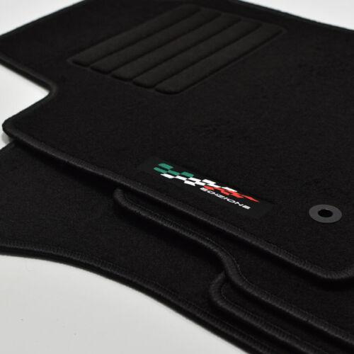 Gamuza Edition tapices alfombras coche para fiat bravo ii 198 a partir del año 11//2006