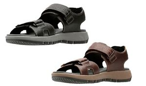 23d6850ea Image is loading CLARKS-Brixby-Shore-Mens-Leather-Sandal