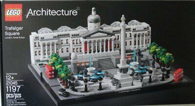 LEGO Architecture 21045 Trafalgar Square Building Kit NO BOX generic box only