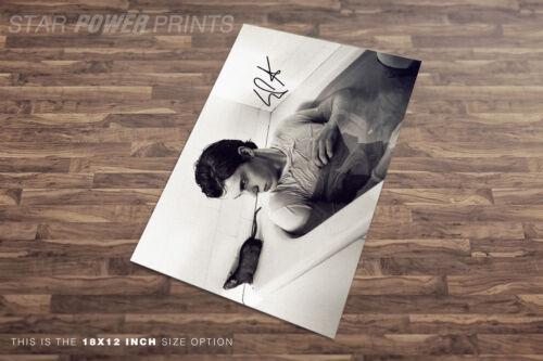 Bath pre signed Evan Peters photo print poster American Horror Story