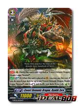 Cardfight Vanguard  x 4 Covert Demonic Dragon, Hyakki Zora - G-BT10/033EN - R Mi