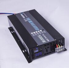 12V/24V/36V/48V DC to 240V AC 50HZ 5000W Off Grid Pure Sine Wave Power Inverter