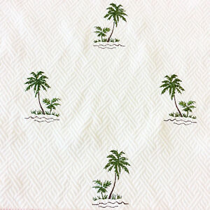 LHD239-Tropical-Palm-Tree-Tommy-Bahama-Embroidered-Cotton-UPH-Home-Dec-Fabric