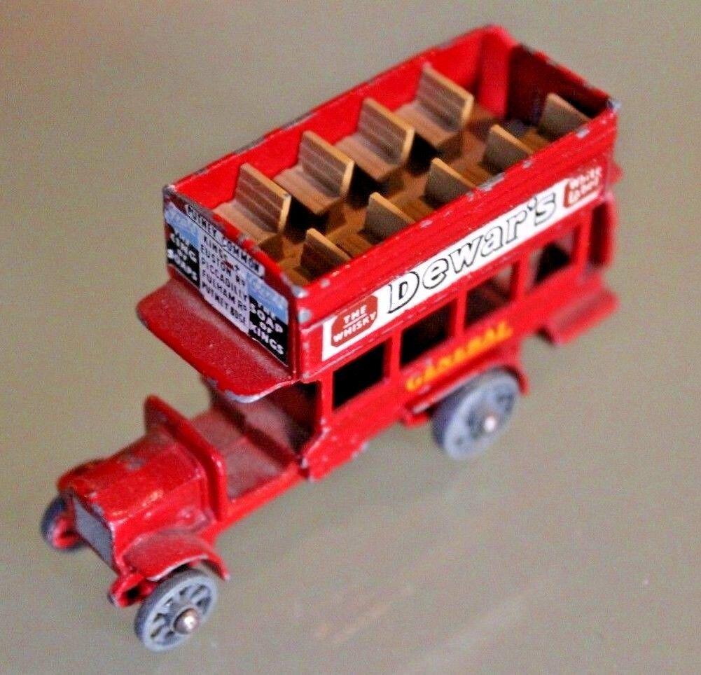 Lesney Matchbox Bus 1920 Bel Zustand Jahre 60