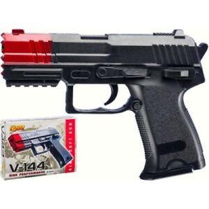 Dettagli su Pistola air soft v 144 villa giocattoli 6 mm
