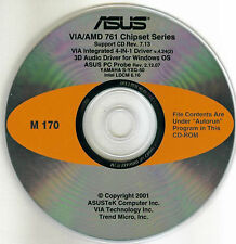 ASUS A7M266 Motherboard Drivers Installation Disk M170
