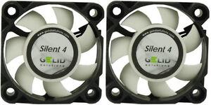 2-X-Pack-De-Gelid-Solutions-Silencioso-4-40mm-ventiladores-4200-Rpm-4-5-CFM-18-9-DBA