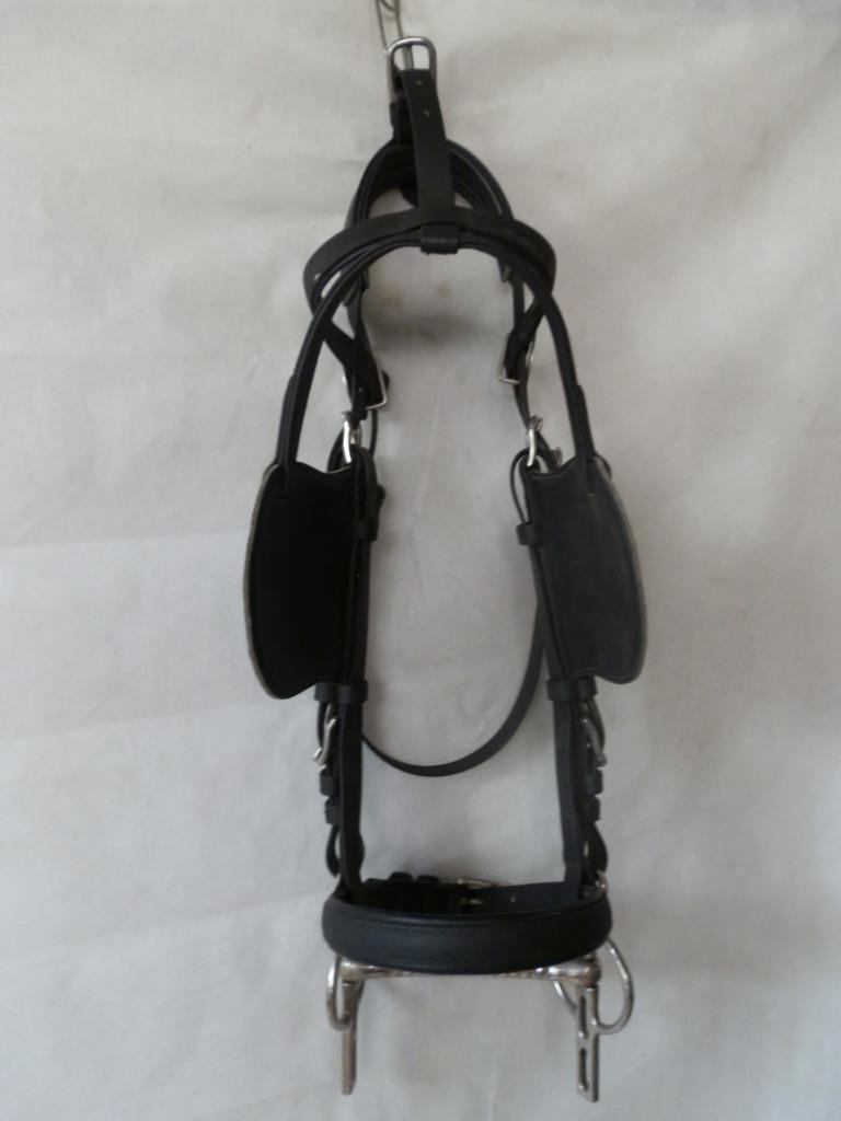 BRIDA de conducción web  de nylon negro con 5 1 2 pulgadas Liverpool Conducción Bit COB FULL  ventas calientes