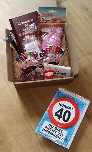 Details Zu 40 Geburtstag Geschenk Frau Geschenkidee Geburtstagsgeschenk Geschenke Lustig