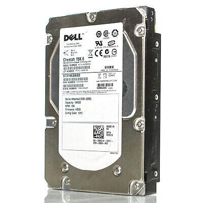 "SEAGATE ST3146356SS 146GB 15K 3.5/"" SAS HARD DRIVE DELL"