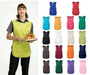 Premier Ladies//Womens Pocket Tabard Workwear 3XL Pink