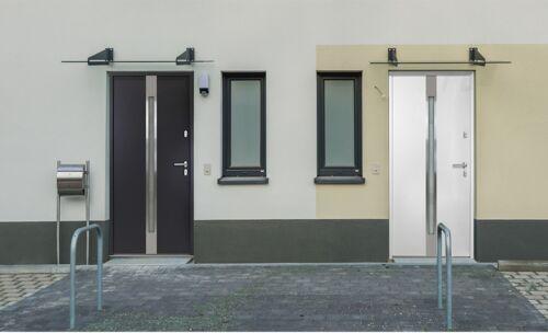 Action porte en aluminium porte alu at505-exposition Langenhagen