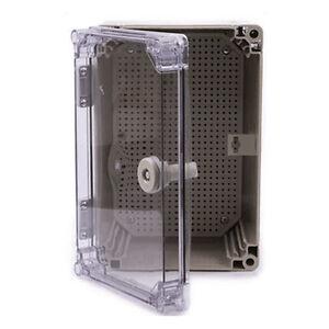 30 20 16cm Ip65 Waterproof Electrical Enclosure Outdoor Plastic Junction Box Ebay