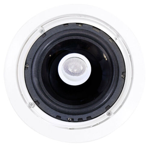 """6 Pyle PDIC60 6.5/"""" 250W 2 Way Round In Wall//Ceiling Home Speakers System Audio"""