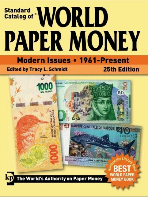KRAUSE 2019 Catalog of World Paper Money 1961-Present, 25th Edition