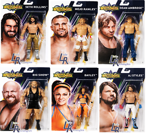 WWE Figures - Basic Wrestlemania 34 - Mattel - Brand New - Sealed