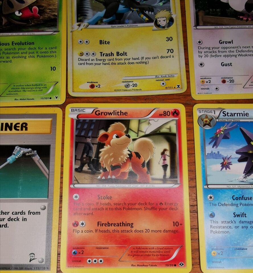 Samlekort, Pokemon Kort 1999 - 2011