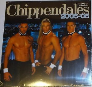 NEW! Chippendales Calendar 2005-2006 VERY RARE (SEALED) CHARLES DERA
