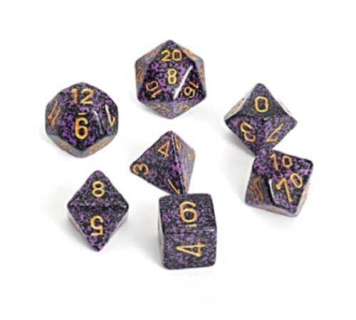 Speckled Hurricane CHX 25317 Polyhedral 7-Die Chessex Dice Set