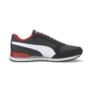 Puma Men's ST Runner V2 NL Puma Black/White/Red Running Shoes 36527827 NEW!