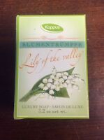 Kappus Lily Of The Valley Luxury Bar Soap 3.2 Oz / 100g