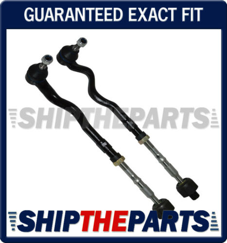 RIGHT STEERING Tie Rod Rods Assembly for BMW E46 M3 Set 2 FRONT LEFT