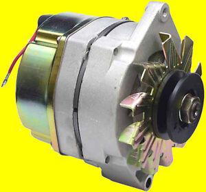 NEW-Delco-Marine-10SI-Alternator-Mercruiser-3-Wire-63-AMP