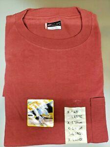 Dickies Mens T shirt Short Sleeve Pocket Tee Heavy Weight Duty 100/% Cotton XL