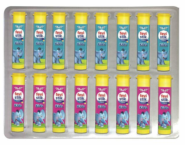 Pidilite Fevistik Kids Pack Of 16 8 G Each For School Home Projects Ebay
