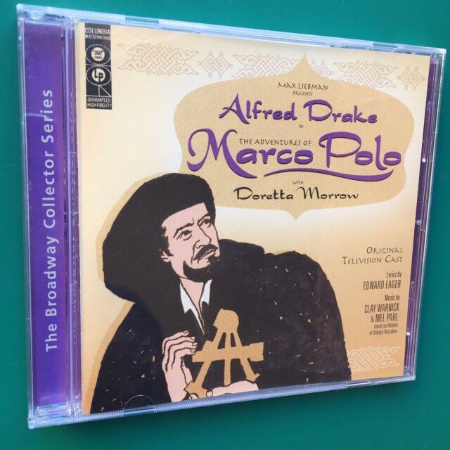 Rare ADVENTURES OF MARCO POLO TV Soundtrack OST CD Alfred Drake Doretta Morrow