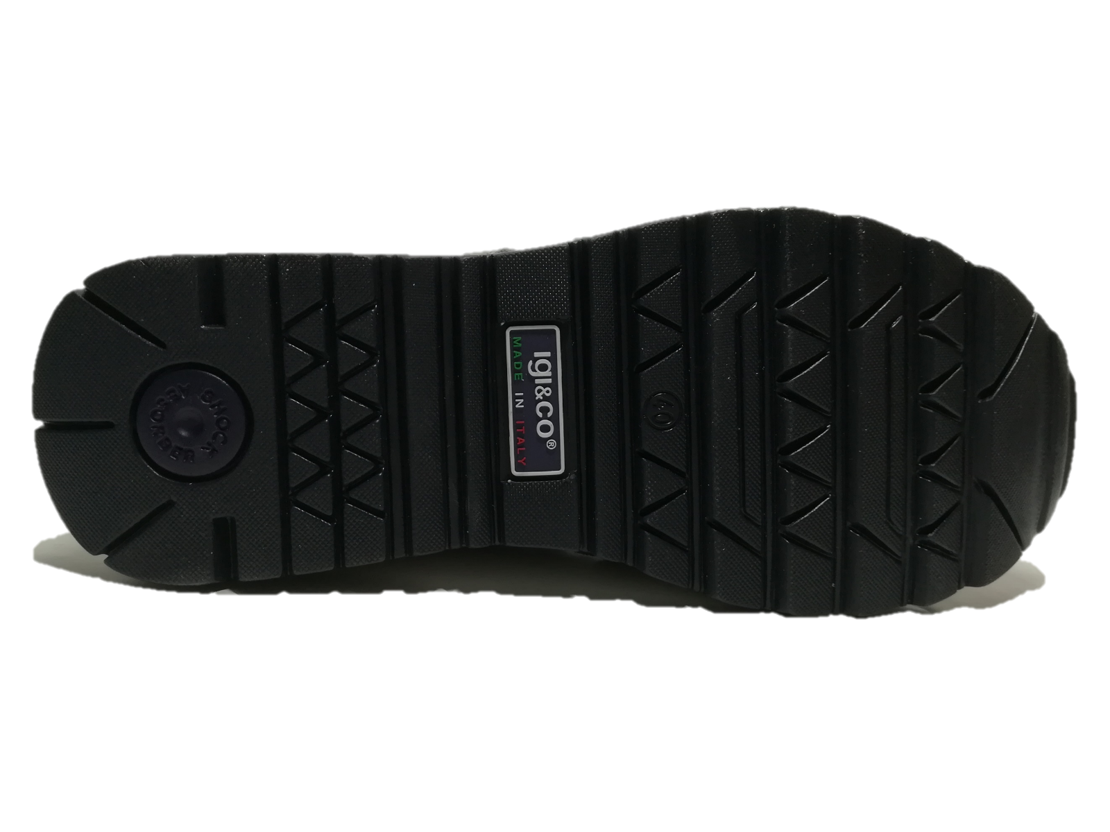 IGI&CO SCARPE UOMO scarpe da ginnastica ginnastica ginnastica SCAMOSCIATO GRIGIO SCURO PLANTARE ESTRAIBILE 3127211 597bd7