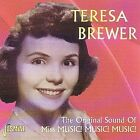 The Original Sound of Miss Music Music Music by Teresa Brewer (CD, Oct-2001, Jasmine Records)