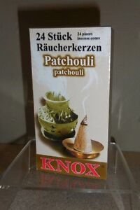 Knox Christmas Incense Cones From Germany Box Of 24 Pcs Patchouli Scent Ebay