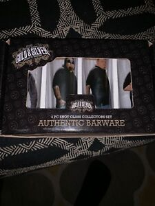 Details about Pawn Stars Set of Collectible Picture Shot Glasses Gold &  Silver Pawn Shop NEW