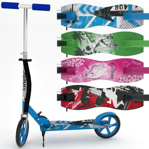 Scooter Cityroller Kinetic Sports Tretroller Klappbar XXL Räder 100kg Farbwahl