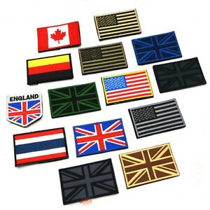 Newest-Nation-Flag-Emblem-Patch-Embroidered-Applique-National-Country-Sew-Trim