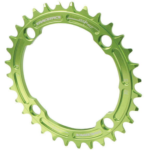Race Face Single Narrow Wide 1x MTB Chainring  104mm BCD 32t verde
