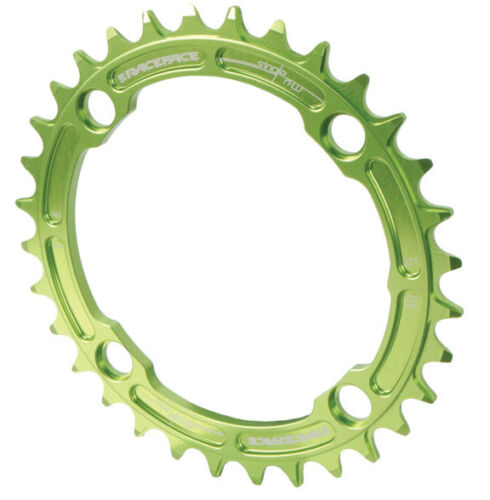 Race Face Single Narrow Wide 1x MTB Chainring 104mm BCD 32t Green