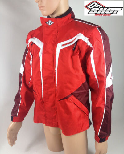 KIDS SHOT CONTACT MOTOCROSS MX ENDURO JACKET RED off road bike coat veste NEW