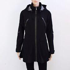 Next Womens Size 8 Black Zip Up Hooded Jacket