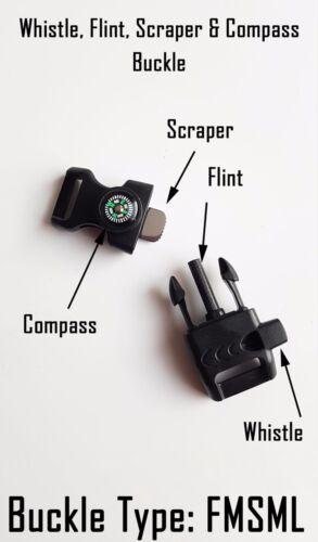 Badged Survival Bracelet Tactical Edge. MODP MOD Police