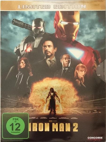 Iron Man 2 - Limited Edition Metalpak DVD/NEU/OVP