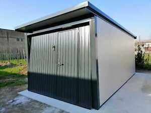 Garage Box Auto 3x5 Metri Coibentato Kit Montaggio Leggere