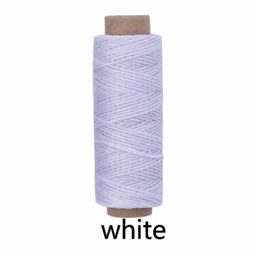 Leather Waxed Thread Sewing Polyester 50m Stitching String Cord Serger Machine
