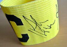 LIVERPOOL Multi Signed Captains Armband Autograph x5 Beardsley Hansen PROOF COA