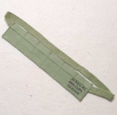 1//6 Battle Gear Toys Bandoulière Munitions US Imprimée WWII Indochine 24 02