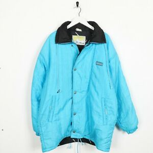 Vintage-90s-ELLESSE-Small-Logo-Soft-Shell-Coat-Jacket-Blue-Small-S
