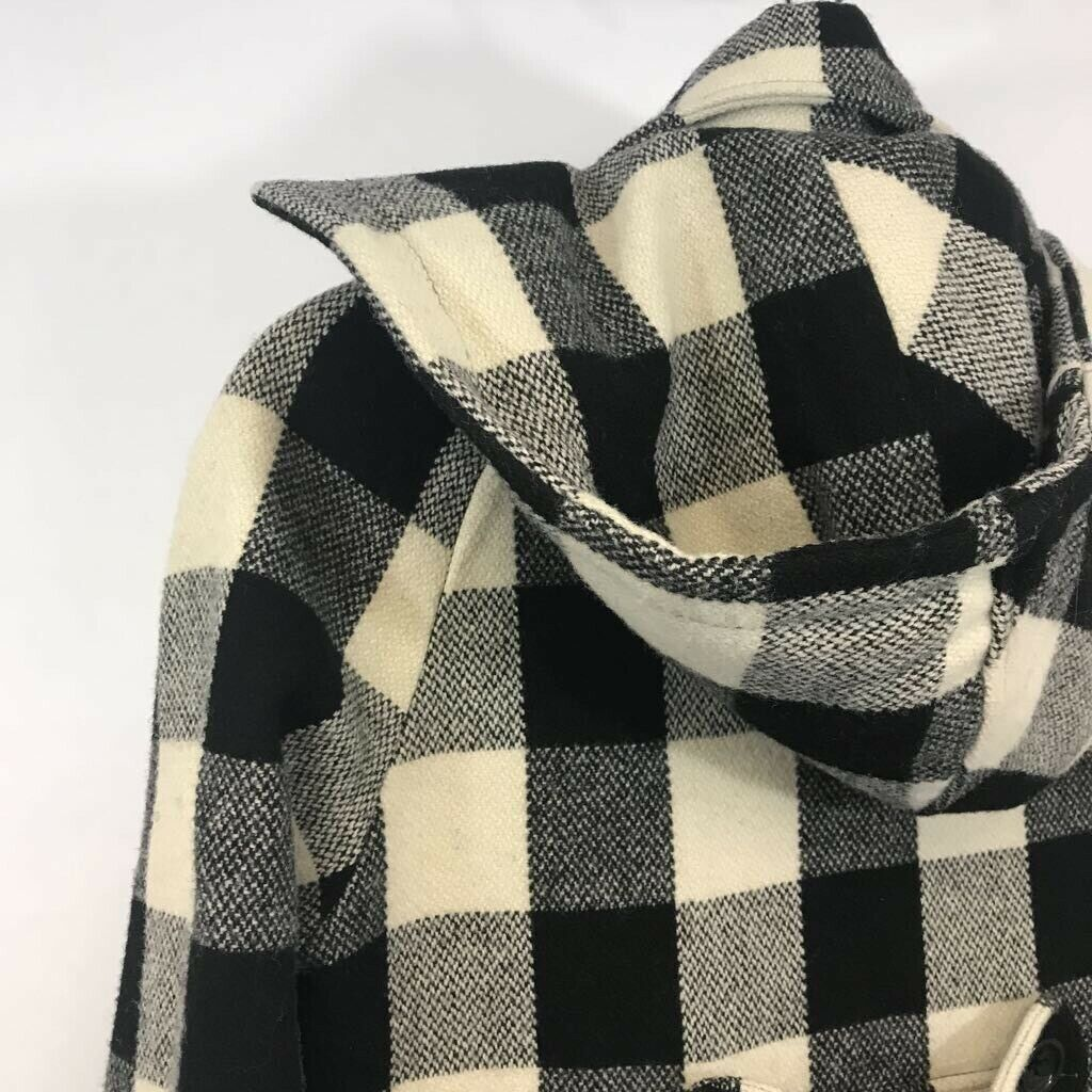 American Rag youth Duffel coat black/ white Buffa… - image 5